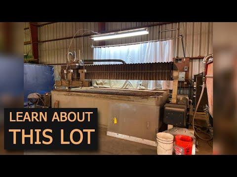 FLOW Robotics Water Jet Cutter  - JMI Online Auction In Union City, CA