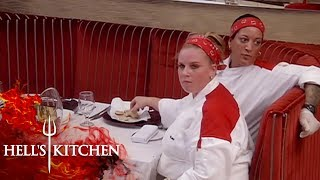 Chefs Forced To Eat Their Overcooked Scallops | Hell's Kitchen