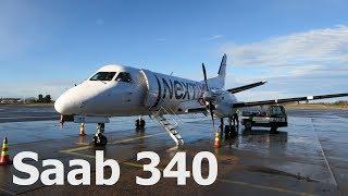 Перелет Мариехамн - Турку на Saab 340 а/к NextJet