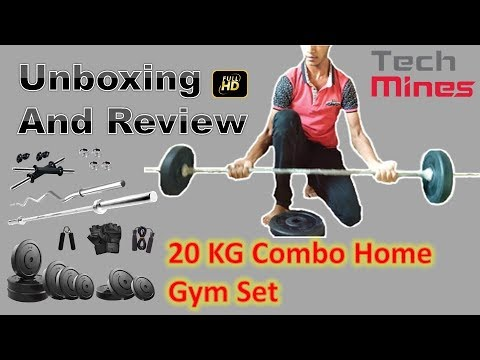 Unboxing and Review KRX Home Gym Set In Hindi || Tech Mines !!!