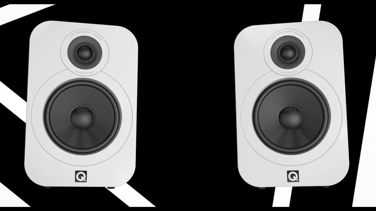 Q Acoustics 3020 głośniki podstawkowe