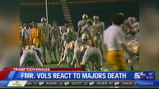 Former Vols React To Death Of Johnny Majors