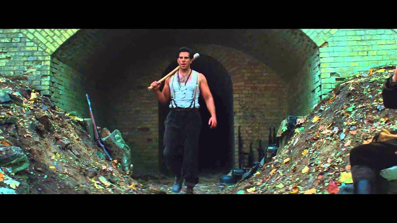 Inglourious Basterds Hd Wallpaper Inglorious Basterds Bear Jew Scene Hd 1080p Youtube
