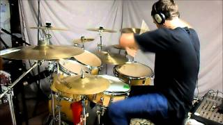 IRON MAIDEN - For the Greater Good of God - drum cover