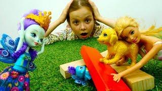Конкурс домашних питомцев Барби и куклы Энчантималс
