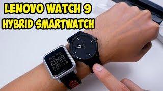 Гибридные смарт часы Lenovo Watch 9. Первые впечатления