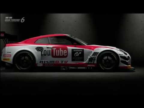 GT6 Test Driving Nissan GT-R NISMO GT3 Team RJN