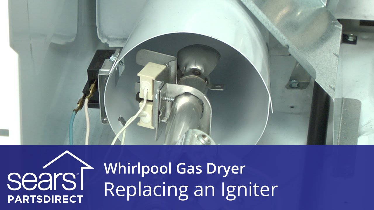 How to Replace a Whirlpool Gas Dryer Igniter  YouTube