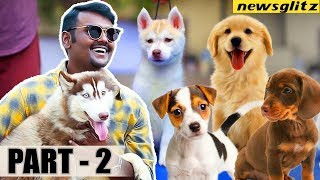 Unknown Side of PETS World   Vijayakanth Son Vijay Prabhakaran Interview   Dog shows