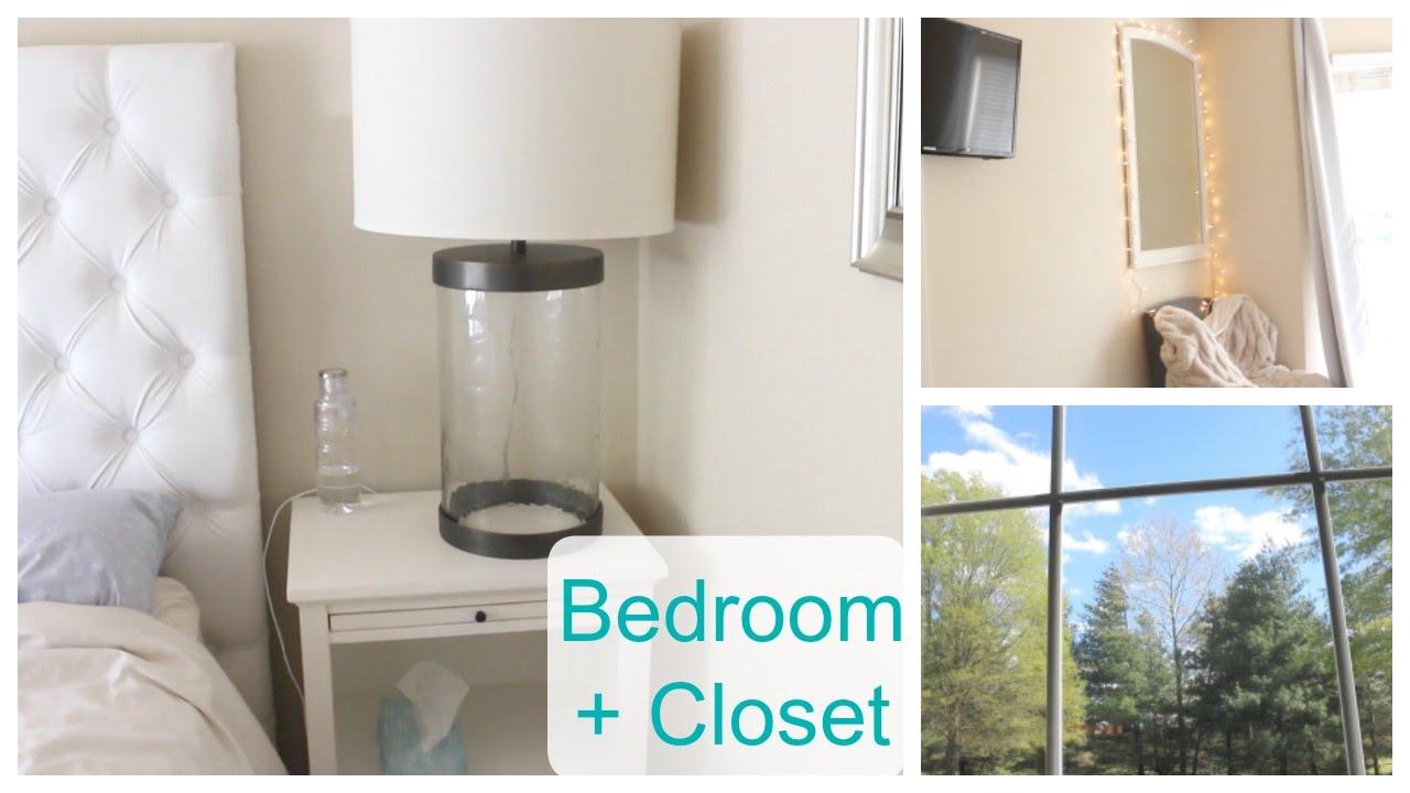 Relaxing Bedroom + Minimal Closet