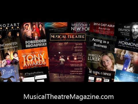 Musical Theatre Magazine ~ Subscribe today!