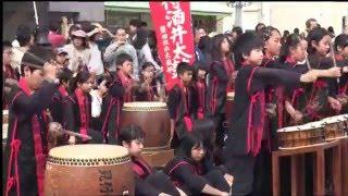 磐田市見付宿場通りで行われた「第16回いわた大祭り」を撮影した動画...