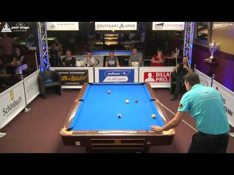 Stuttgart Open 2015, No. 26, Final, Sebastian Ludwig vs. Sebastian Staab, 10-Ball, Pool-Billard