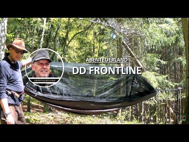 DD FRONTLINE Hängematte - mit Fliegennetz lässt dich nicht hängen ????????????