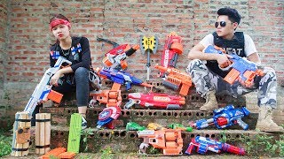 LTT Nerf War : SEAL X Warriors Nerf Guns On Patrol Fight Attack Criminal Group Danger