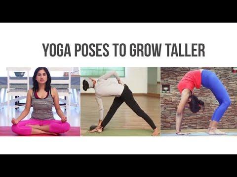 3 Yoga Poses to Grow Taller