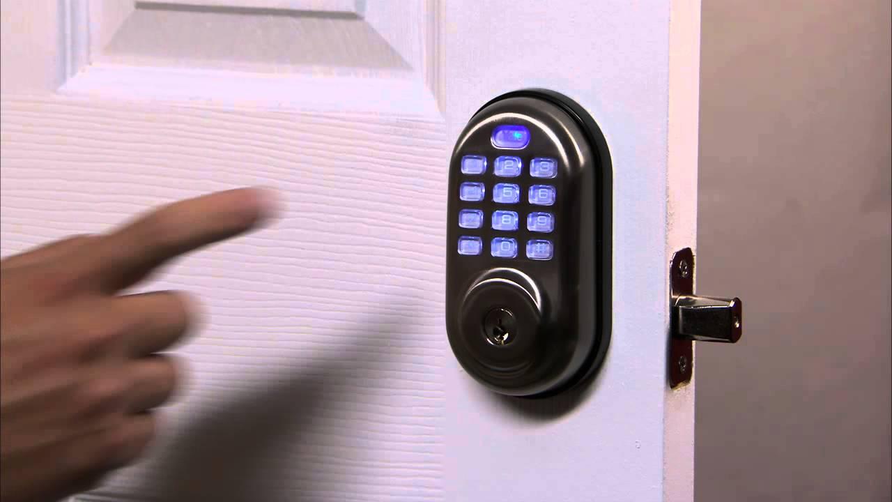 Yale Real Living Push Button Deadbolt Programming - User PIN Code  Registration 02