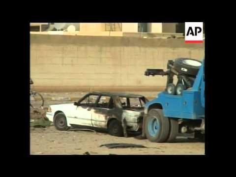 Series of car bombings kill 19 people in western Iraq