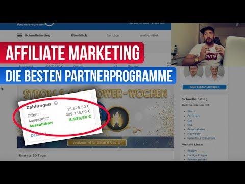 Affiliate Marketing - Die besten Partnerprogramme 2019