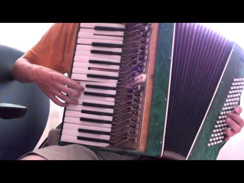 Lady Gaga  Bad Romance accordion