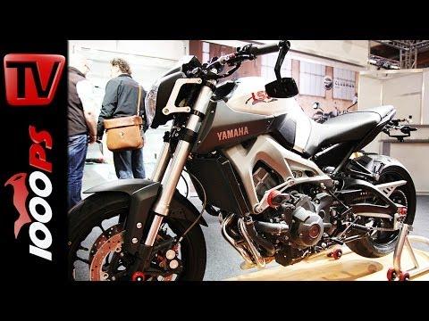 Yamaha MT-09 - Umbau von LSL - Interview mit Jochen Schmitz-Linkweiler - Custombikeshow
