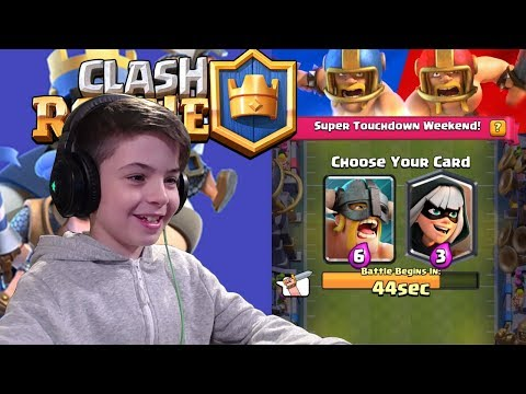 2v2 TOUCHDOWN CHALLENGE - Clash Royale