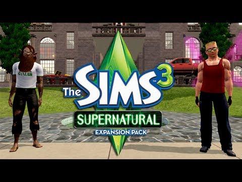 LGR - The Sims 3 Supernatural Review