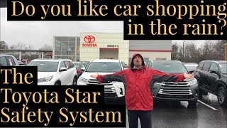 Car Shopping in the Rain - Toyota Star Safety System with Jonathan Sewell Sells