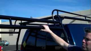 Series 2000 Forklift Loadable Truck Rack By Rack-it