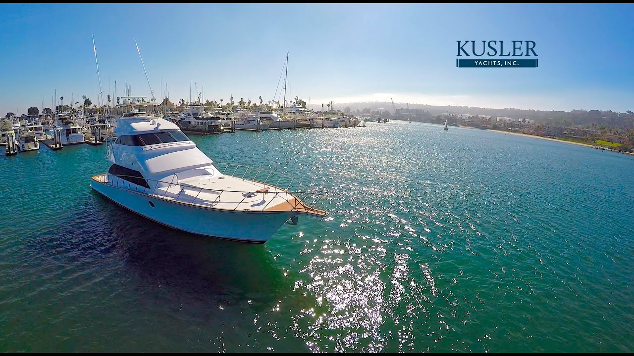 Drone aerial footage kusler yachts 75 39 titan c bandit for Fishing drone for sale
