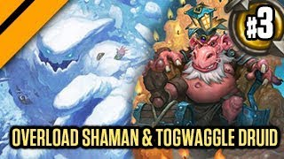 Hearthstone: The Witchwood - Snow Clones Shaman & Togwaggle Druid P3