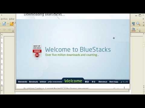¿como Descargar BlueStacks Para Canaima? Metodo 2017 100% Seguro