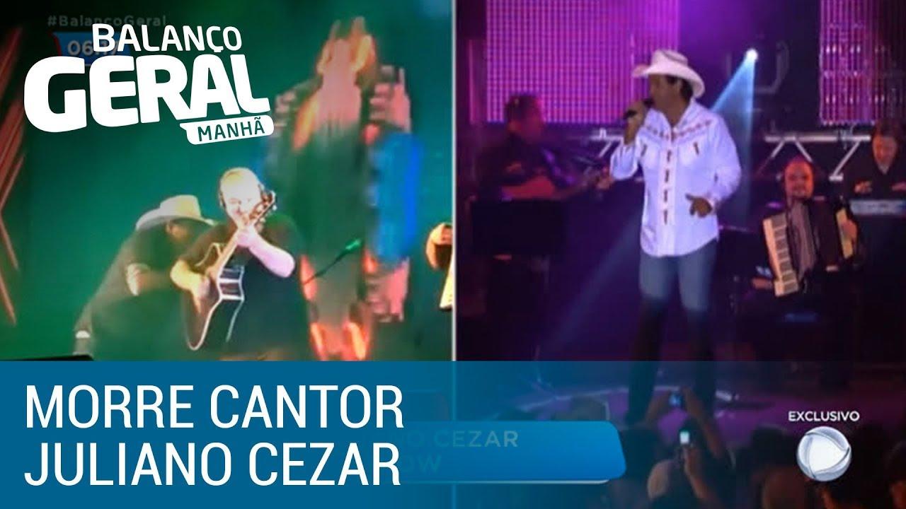 Cantor sertanejo Juliano Cezar morre durante show no Paraná
