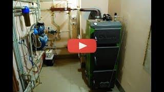 Твердотопливный котел Kamen 20 кВт - видео обзор