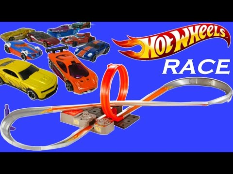 hot wheels super loop chase race instructions