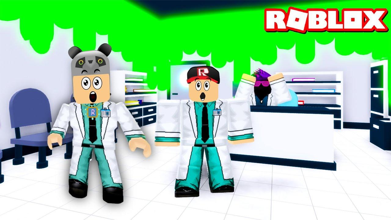 Doktor Olduk ve Çılgın Laboratuvardan Kaçıyoruz!! - Panda ile Roblox Escape The Lab Obby!