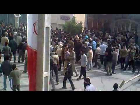 اولین ویدئو از ناآرامی در شهرستان لار در استان فارس