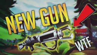 FORTNITE NEW GUN ZAPATRON SNIPER!!! - Fortnite Battle Royale WTF & Funny Moments Episode. 47