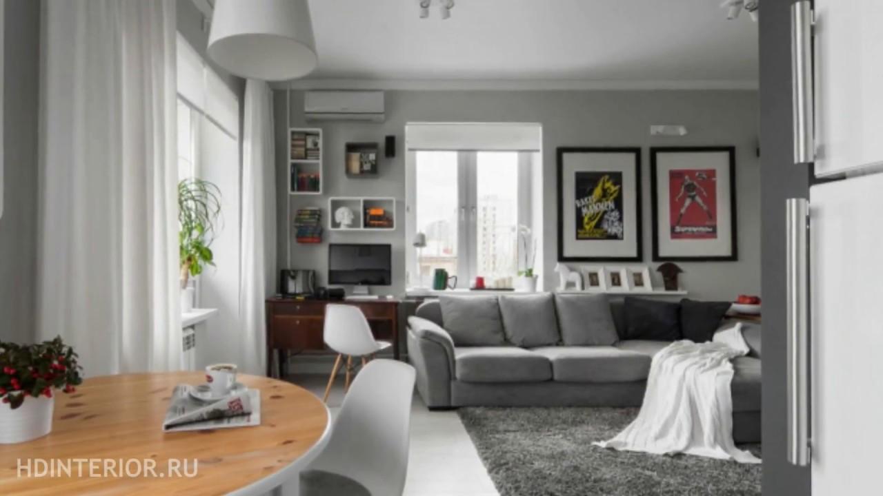 дизайн интерьера квартиры студии 6