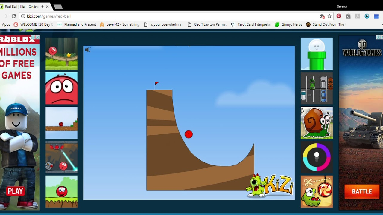 Kizi Red Ball I M Really Bad At This Game Youtube