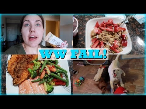 My WW Fail, Puppy Playtime, & Marching For Babies | Vlog 4/19/18