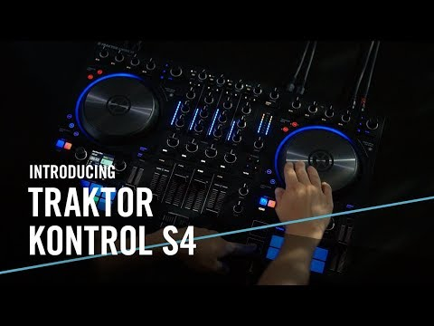 Traktor Kontrol S4 MK3 — complete with haptic spinning