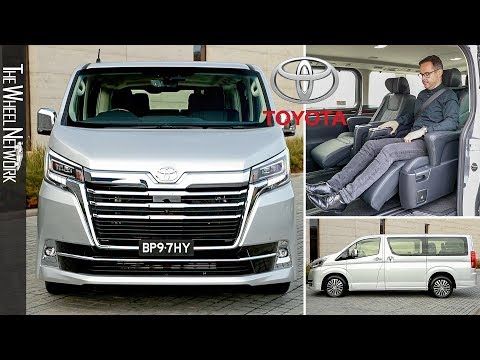 2020 Toyota Granvia Eight-seater MPV | Driving, Interior, Exterior (Australia)