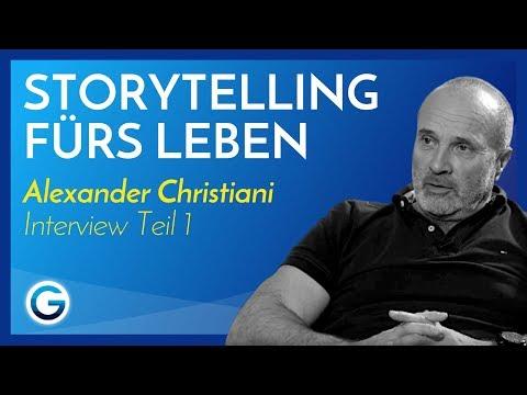 So begeisterst du mit gutem Storytelling // Alexander Christiani im Interview Teil 1