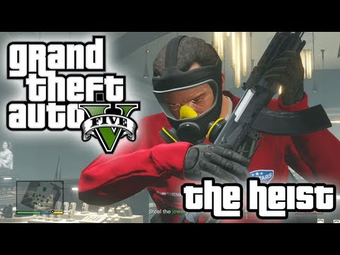 Jewel Heist: The Heist!! (part 3 of 3) | GTA V Gameplay
