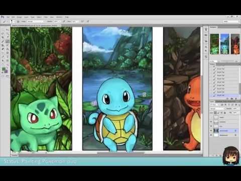 Painting Gen 1 Pokemon