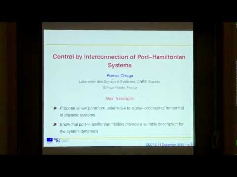 Control by Interconnection of Port-Hamiltonian Systems by Romeo Ortega