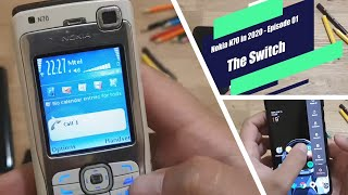 Nokia N70 in 2020 - Episode 01 - The Switch (I switched SIM from my OnePlus 7 Pro to my Nokia N70)