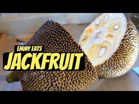 Tasting Jackfruit & How to Open It