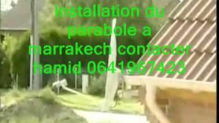 installation du parabole a marrakech.wmv